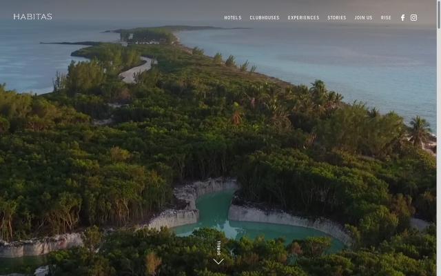 Screenshot of Ourhabitas