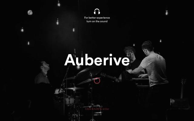Screenshot of Auberivemusic