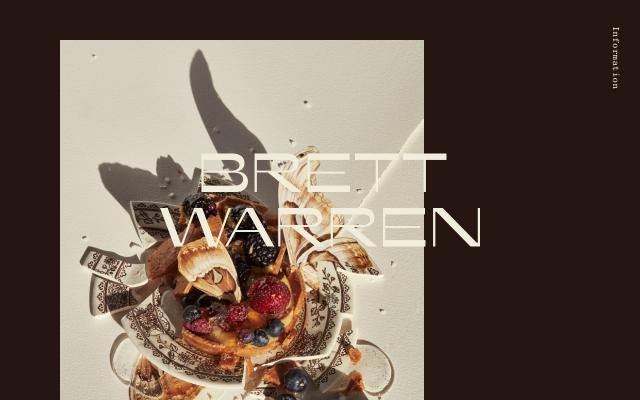Screenshot of Brett Warren
