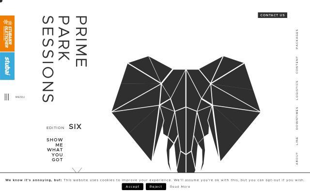 Screenshot of Primeparksessions