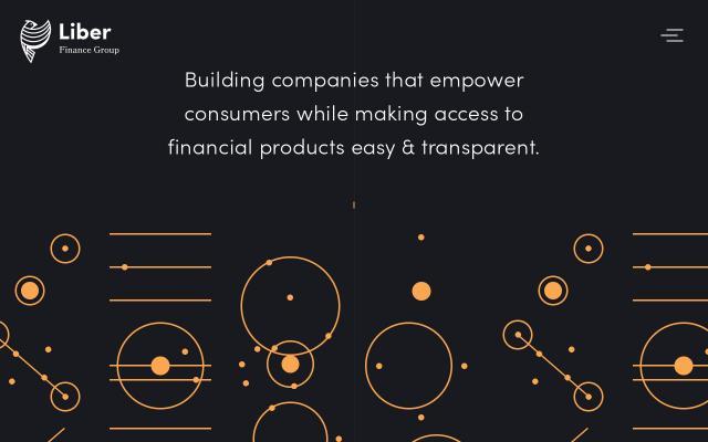 Screenshot of Liberfinancegroup