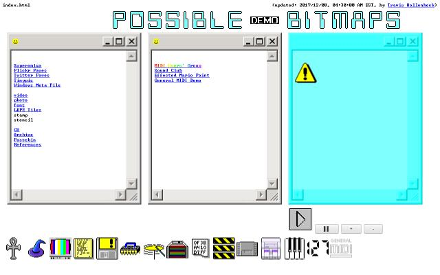 Screenshot of Possiblebitmaps