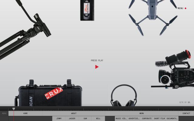 Screenshot of Cruxmedia