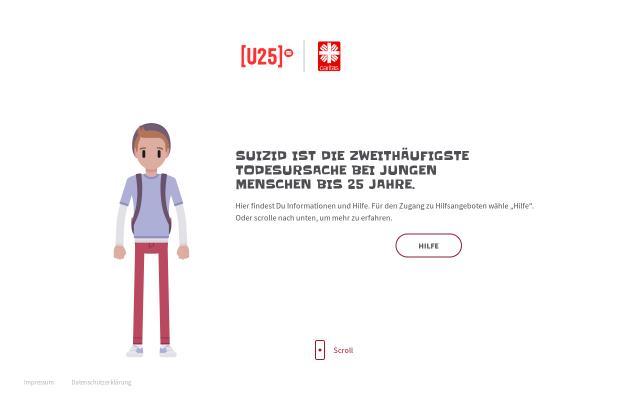 Screenshot of Dubistmirwichtig