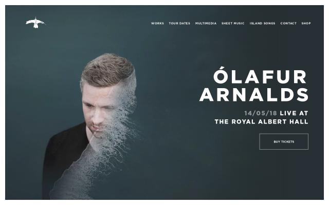 Screenshot of Olafurarnalds