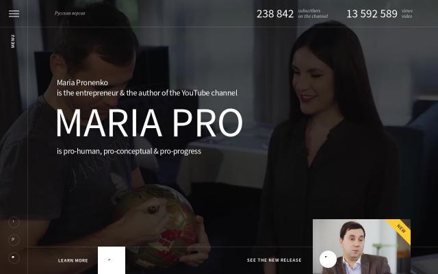 Screenshot of Mariapro