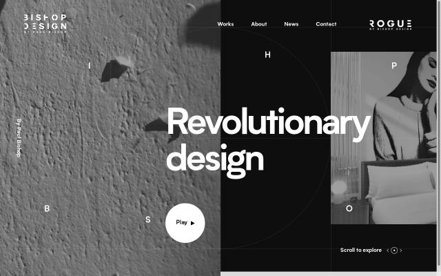 Screenshot of Wearebishopdesign