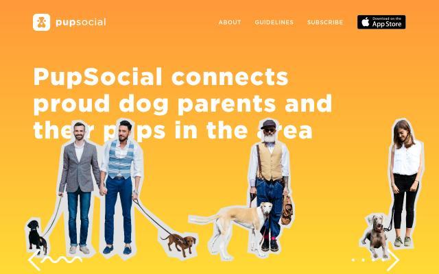 Screenshot of Pupsocialapp