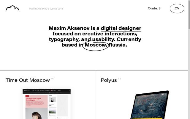 Screenshot of Maximaksenov