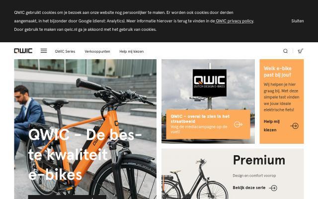 Screenshot of Qwic