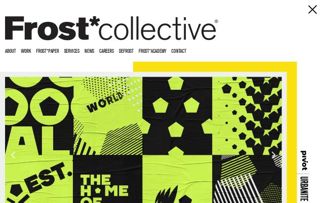 Screenshot of Frostcollective