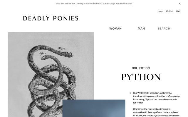 Screenshot of Deadlyponies