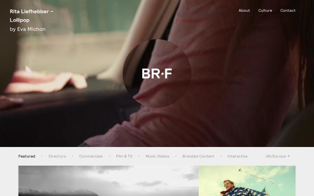 Screenshot of Brf