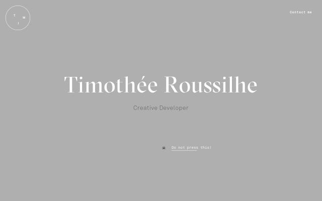 Screenshot of Timroussilhe
