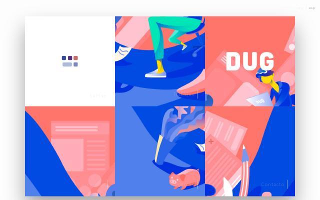 Screenshot of Dug