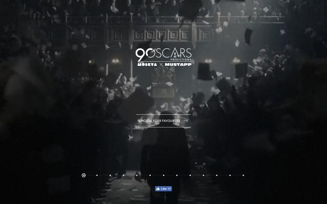 Screenshot of Oscars