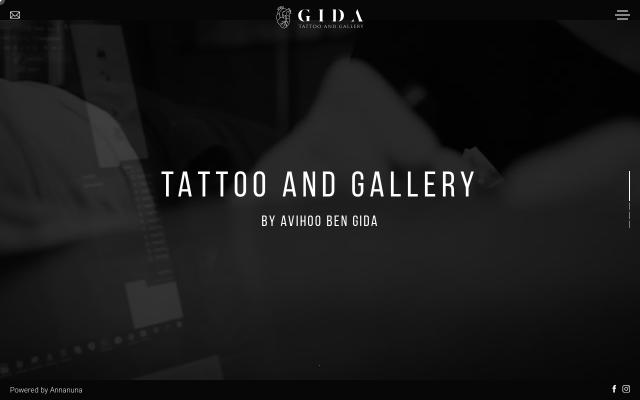 Screenshot of Gidatattoo