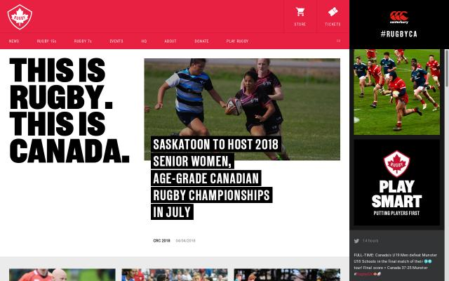Screenshot of Rugby