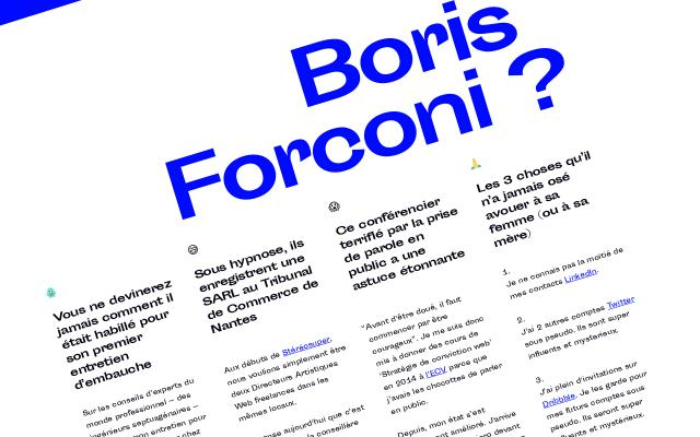 Screenshot of Borisforconi