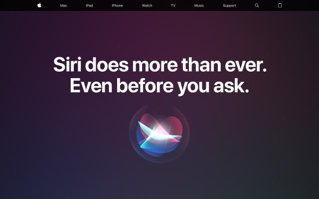 Screenshot of Apple