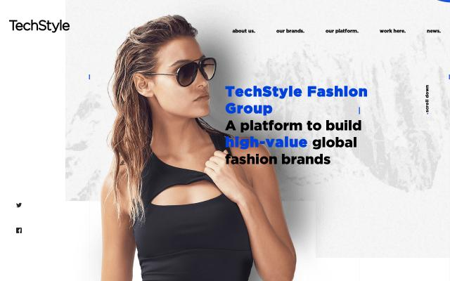 Screenshot of Techstyle