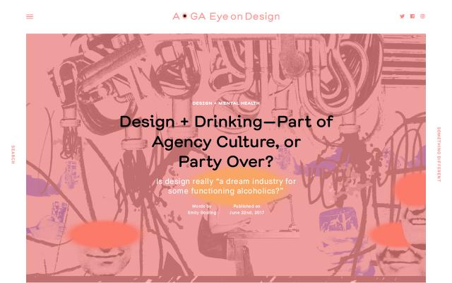 Screenshot of Eyeondesign