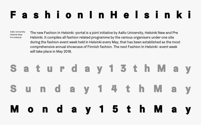Screenshot of Fashioninhelsinki